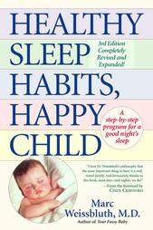 Healthy Sleep Habits Happy Child book cover