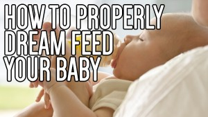 How to Dream Feed Baby