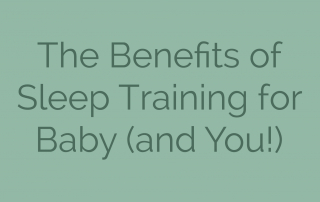 The Benefits of Sleep Training for Baby (and You!)