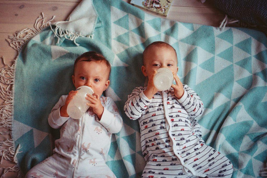 sleeping training twins edition