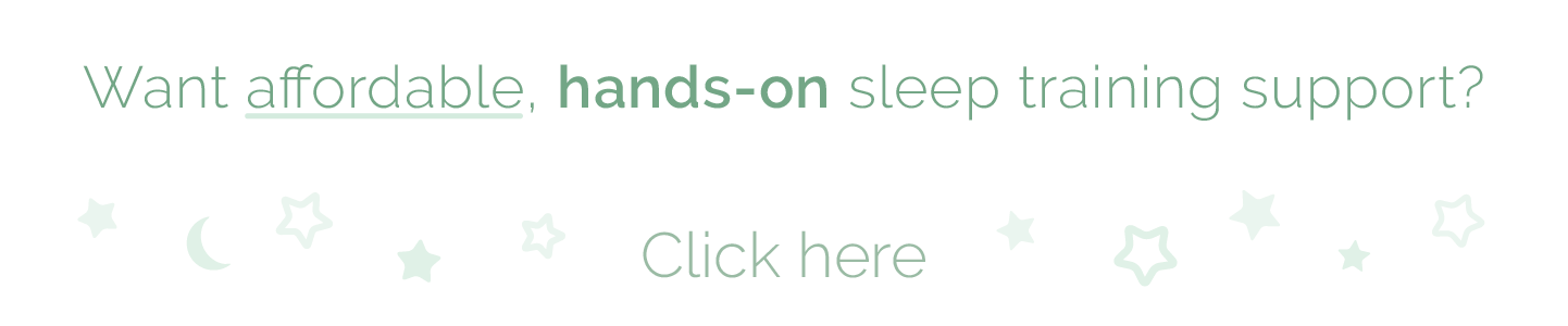Want Affordable hands-on sleep training support?