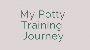 my potty training journey poologix